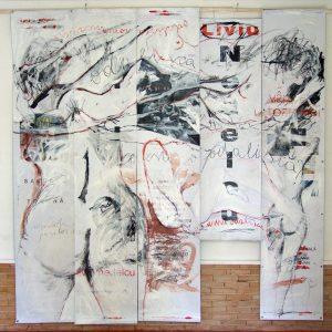La Grande Odalisque, 2012, mixed technique, 300 x 400 cm
