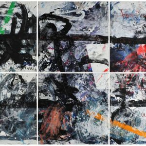 The Sign, 2015, acrylic on canvas, 200 x 300 cm